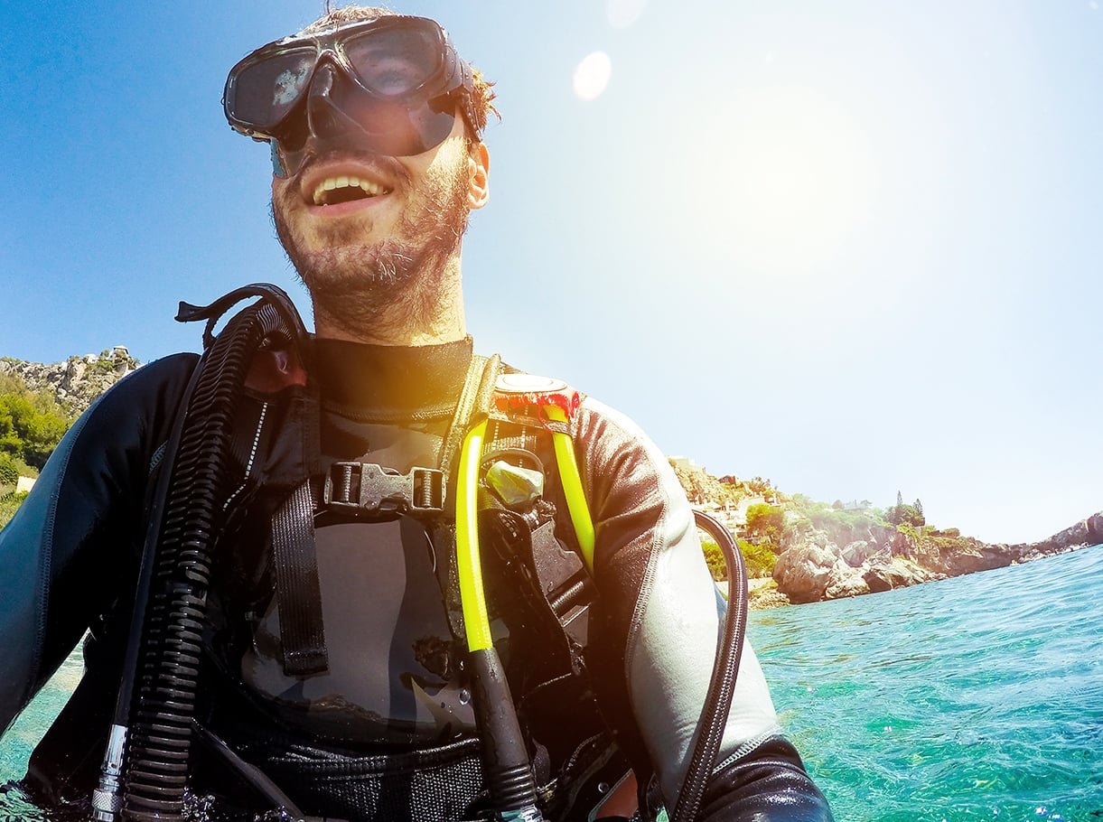 Find anything for scuba diving